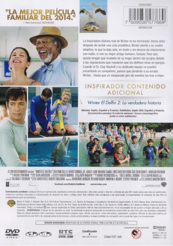 winter el delfin dolphin 2 dos morgan freeman pelicula dvd