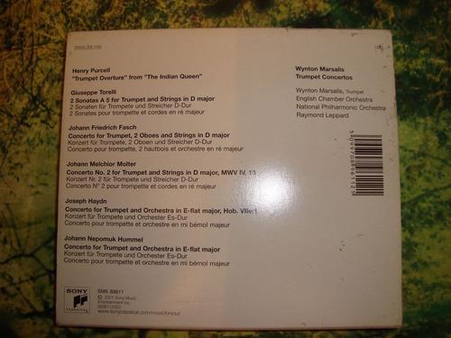 winton marsalis trumpet concertos-haydn / purcell-en cd