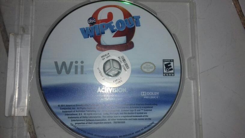 Wipe Out Juego Para La Consola Wii Poco Uso 100 00 En Mercado Libre