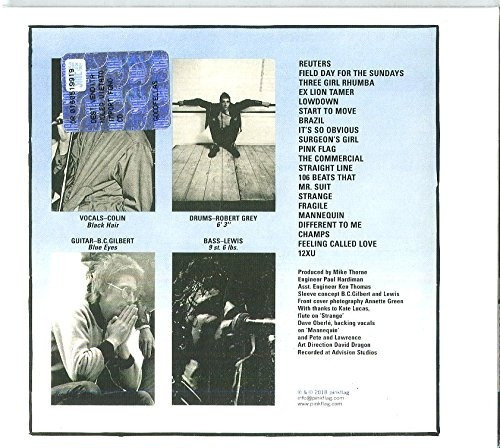 Wire Pink Flag Usa Import Cd Nuevo