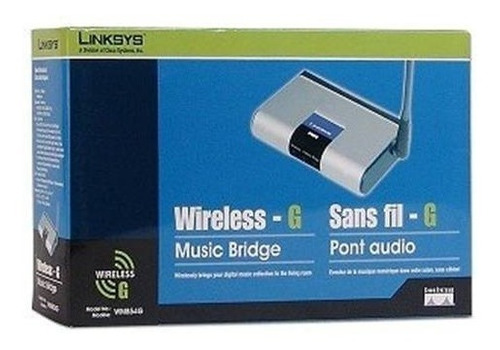 wireless g linksys sistema de música inalambrico