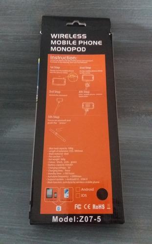 wireless mobile phone monopod