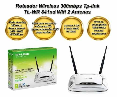 wireless tp-link roteador