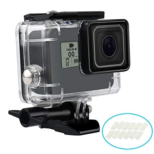 wisagi waterproof housing case for gopro hero7 black hero6 h