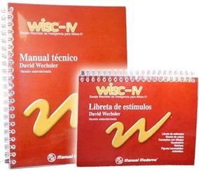 Wisc Iv Mexico / Escala Wechsler De Inteligencia Para Niños
