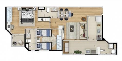 wish residence (zs038) 400m metro sacoma || ac/ permuta auto
