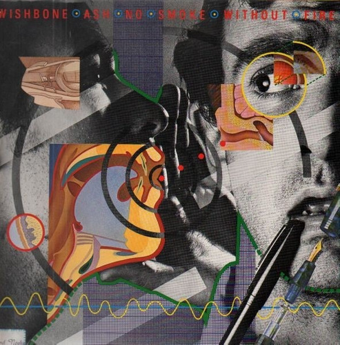 wishbone ash - no smoke without fire (cd importado)