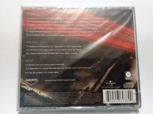 wisin y yandel - otra dimension / 2 cd + dvd nuevo