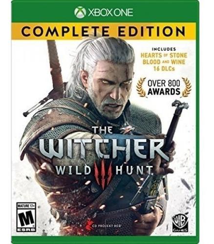 witcher 3: edición completa de wild hunt - xbox one