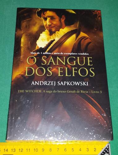 witcher 3 o sangue dos elfos andrzej sapkowski em português