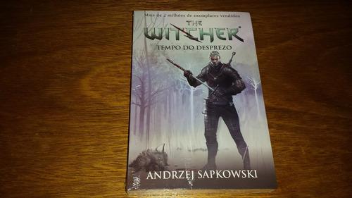 witcher 3 - time of contempt - livro em português