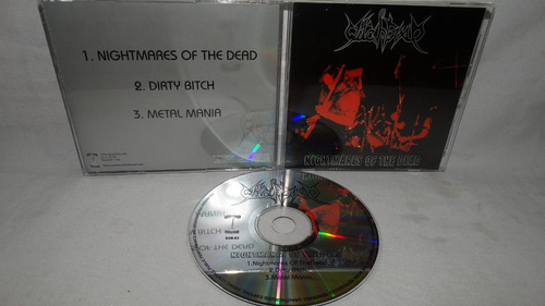 witchtrap - nightmares of the dead (black thrash metal colom