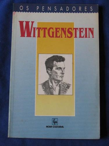 wittgenstein os pensadores  investigações filosóficas