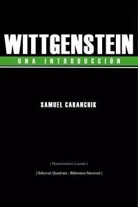 wittgenstein una introducción - samuel cabanchik