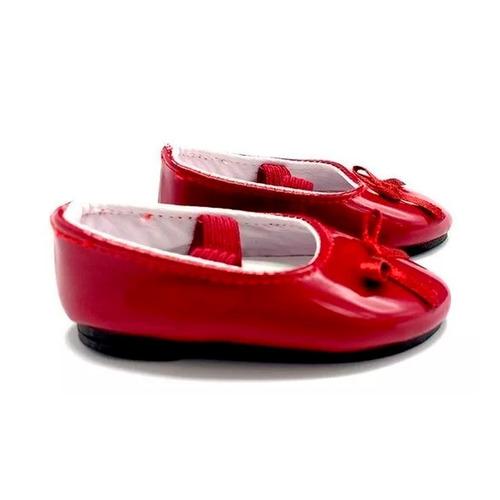 witty girls balerina cuerina calzado muñecas 45 cm/18 pulg