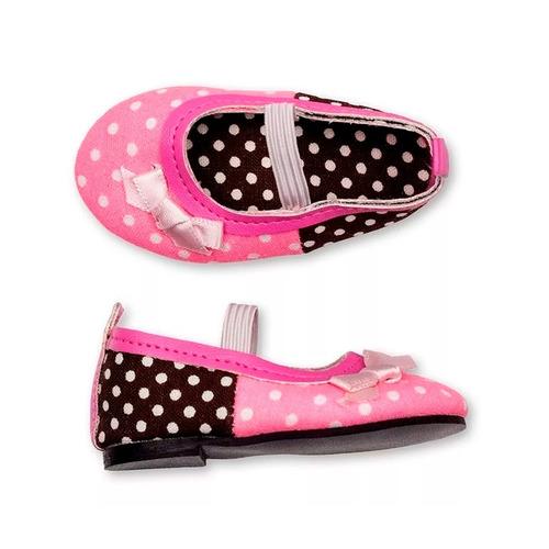 witty girls balerina lunares calzado muñecas 45 cm/18 pulg