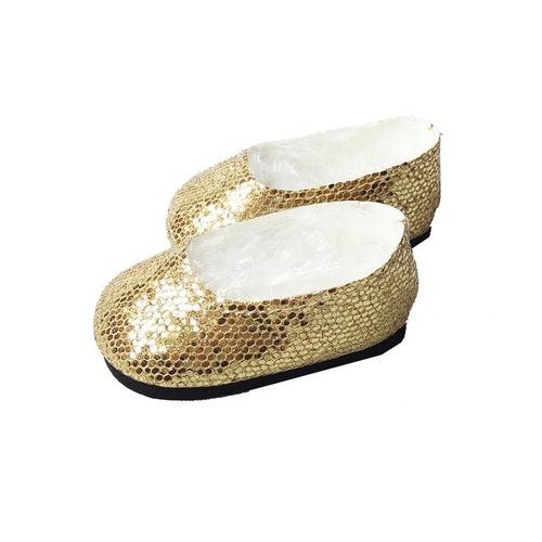 witty girls balerinas doradas calzado muñecas 45 cm/18p