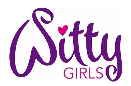 witty girls calza corazon remera ropa muñecas 45 cm/18 pulg