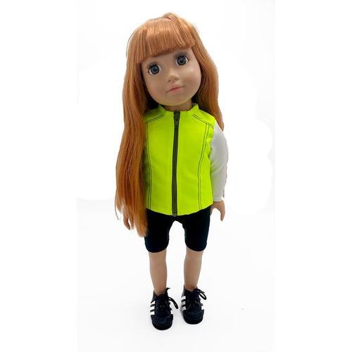 witty girls conjunto deportivo ropa muñecas 45 cm/18 pulg