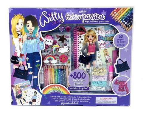 witty girls estilista diseño ropa fashion arte set deco
