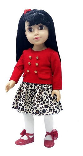 witty girls lucy muñeca 45cm /18 pulg original american our