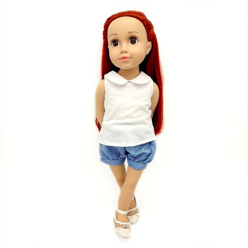 witty girls noa muñeca 45cm /18 pulg original american our