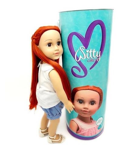 witty girls noa muñeca 45cm /18 pulg original american our