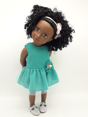 witty girls sarah muñeca 45cm /18 pulg original american our