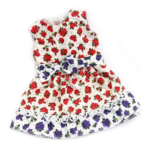 witty girls vestido floral ropa muñecas 45 cm/18 pulg