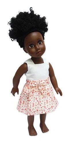 witty girls vestido flores lazo ropa muñecas 45 cm/18 pulg