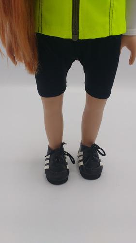 witty girls zapatilla deportiva calzado muñecas 45 cm/18 p