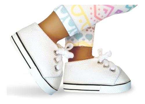 witty girls zapatillas calzado escolar muñecas 45 cm/18 p