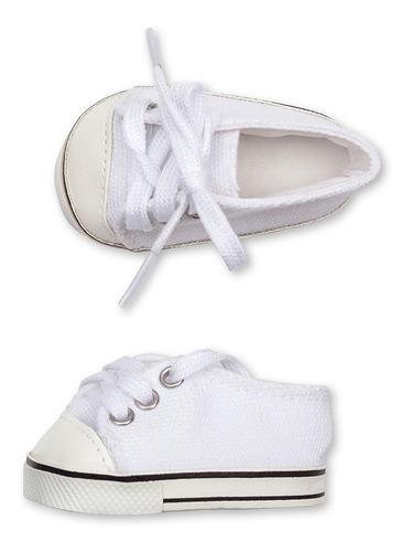 witty girls zapatillas muñecas 45 cm/18 p calzado escolar