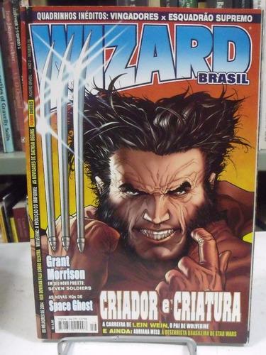 wizard brasil nº 16 quadrinhos inéditos: vingadores x esquad