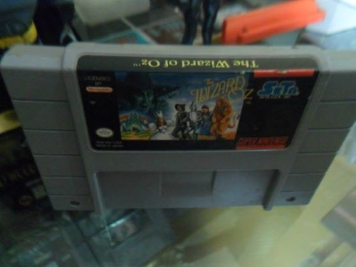 wizard of oz super nintendo snes cartucho