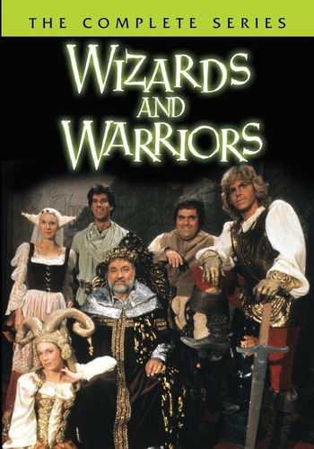 wizards and warriors coleccion completa serie dvd