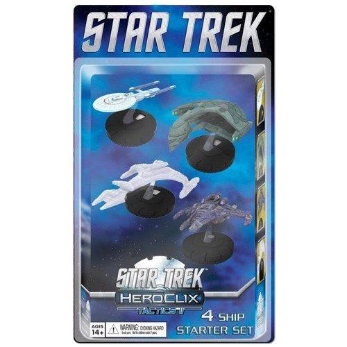 wizkids star trek tactics series 2 starter set 4pack