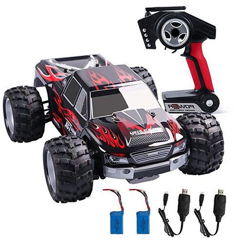 wltoys rc carro eléctrico + control remoto + 2 cables usb ca