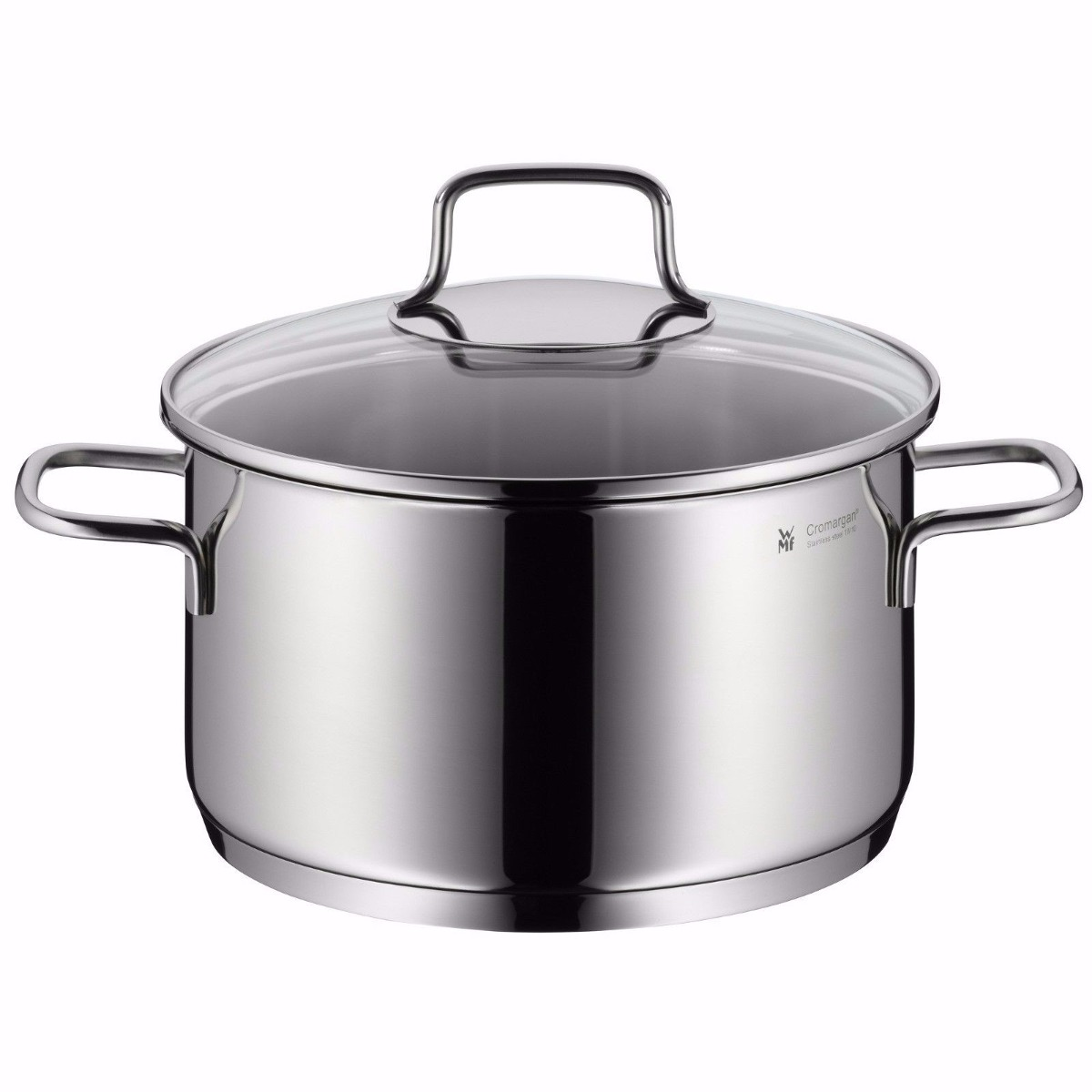 Wmf bater a de cocina de acero inoxidable astoria 8 piezas for Baterias de cocina hipercor