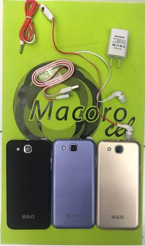 w&o s87 nuevo 2gb ram android 6.0 dual sim 16gb de memoria!