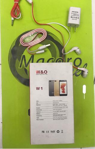 w&o w1 nuevo pantalla 5.5  octacore android 6.0 memoria 16gb