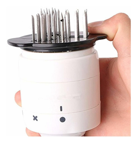 Woapech Sauce Injector Marinator and Meat Tenderizer 30 Stainless Steel Needles for Softening Meat