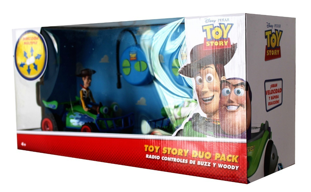 2e8d305247d14 Woddy Y Buzz Toy Story Radio Controles Duo Pack -   960.00 en ...
