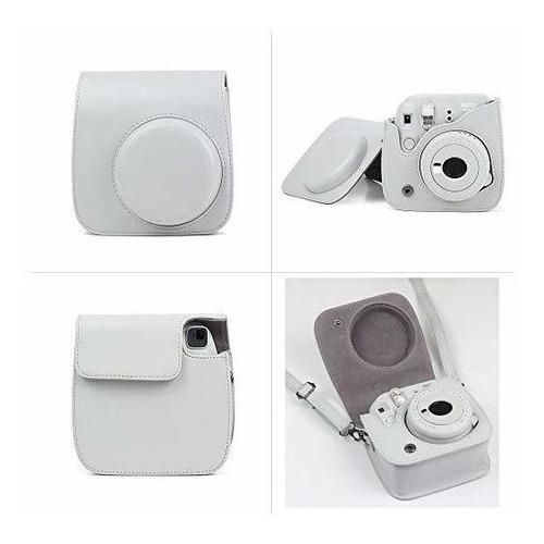wogozan camare bolsa para fujifilm instax mini 9/8 incluir a