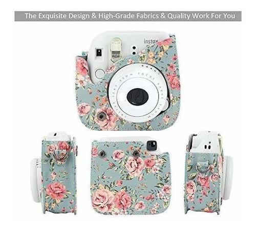 wogozan mini caja de la cámara de fujifilm instax mini 9 8 8