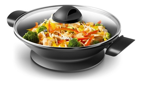 wok electrico pg4810n atma