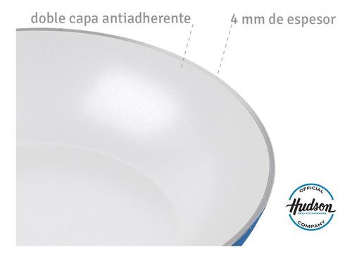 wok  hudson ceramica 28 cm induccion