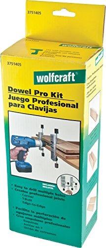 wolfcraft 3751405 kit de espiga dowel pro