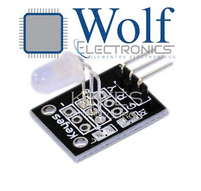 wolfelectronics módulo led 5mm bicolor arduino