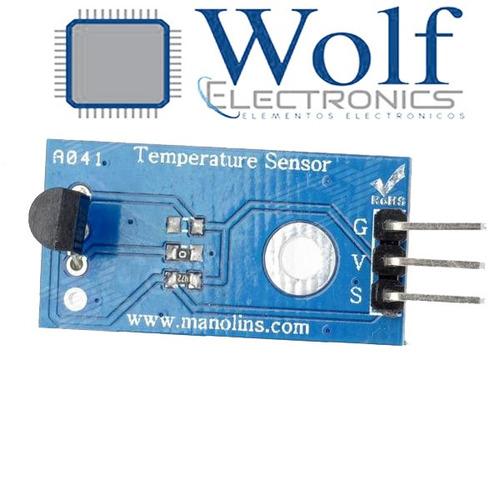 wolfelectronics  sensor de temperatura arduino ds18b20